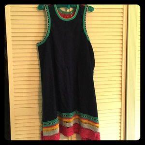 Anthropologie Akemi and Kin crochet trim dress, L